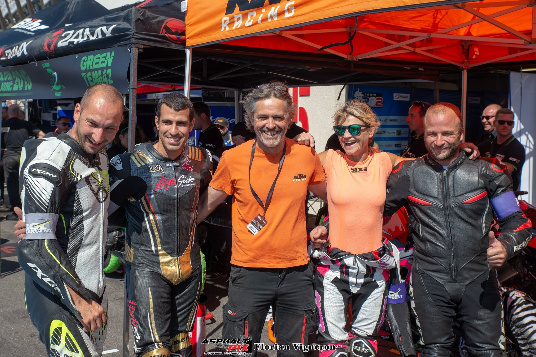 TEAM CTM 83 HIGH SIDE Bol d'Argent 2019