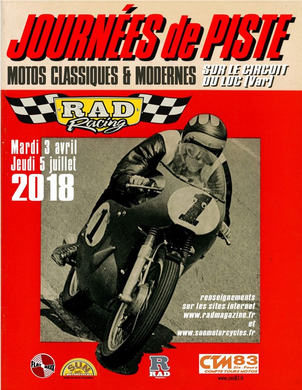 roulage ctm 83 - rad racing 2018 le luc