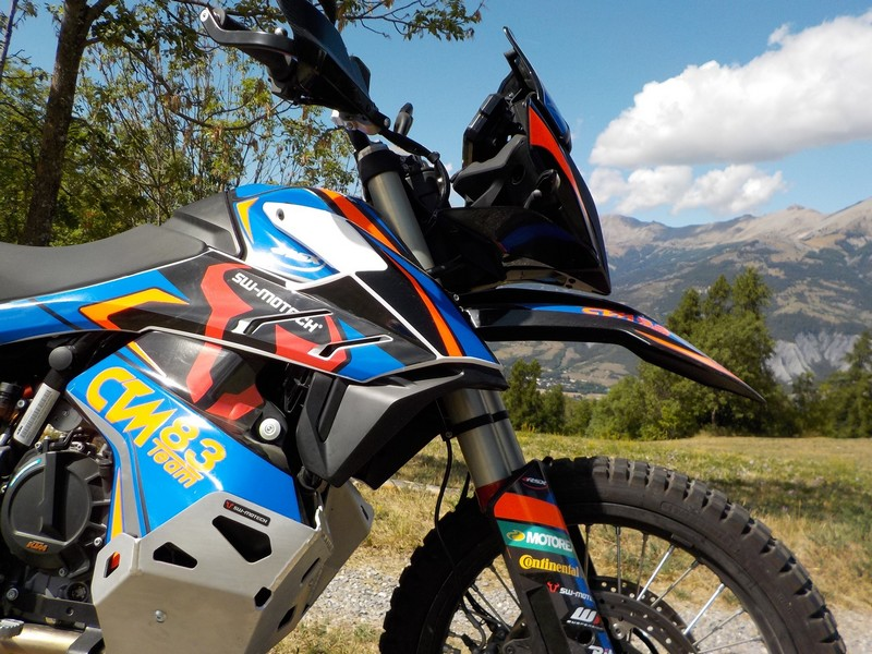ktm 790 adventure wp suspensions sw motech