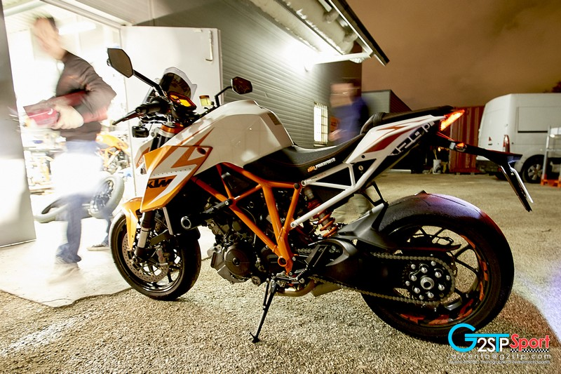 KTM 1290 SD R Special Edition de Laurent Filleton KTM Team France CTM83 sur le CFRR 2016