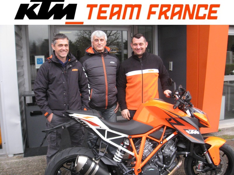 Team KTM France Dark Dog 2015