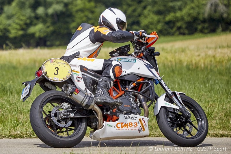 florent derrien, ktm team france, sur ktm 690 duke r CTM 83