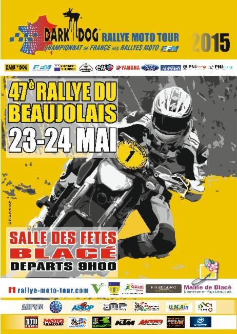 DDRMT Team KTM France Dark Dog 2015 avec CTM 83 Rallye du Beaujolais