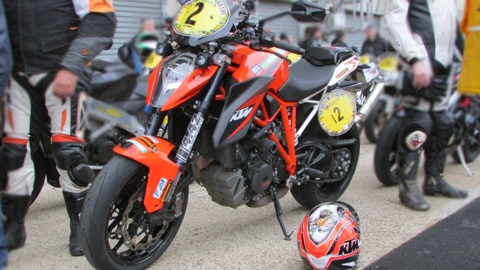 KTM 1290 SD R de Laurent Filleton KTM Team France sur le DDRMT 2015