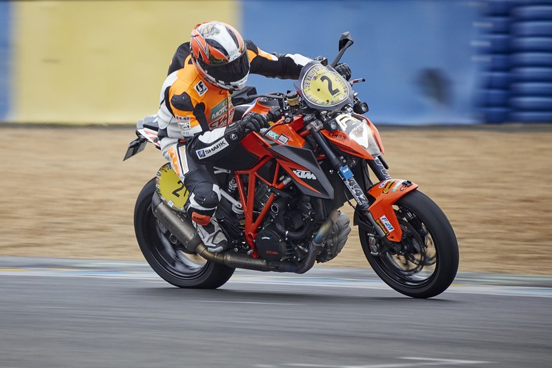 Victoire au Bugatti pour Laurent Filleton kTM Team France sur la KTM 1290 Super Duke R au Dark Dog rallye Moto Tour