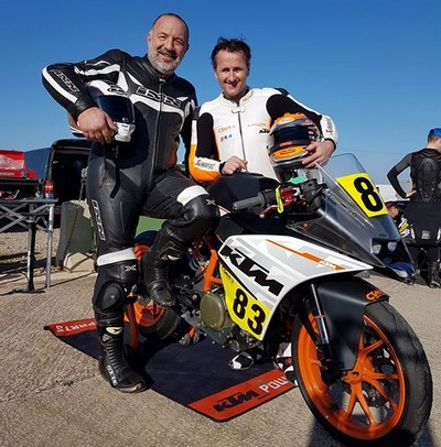 team CTM 83 ktm rc 250 25 power endurance du luc
